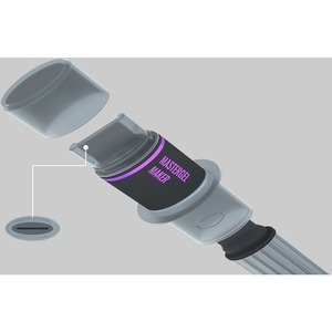 Cooler Master MasterGel Maker High Performance Thermal Grease - 0.05 fl oz - Syringe - 11W/m∙K - Gray