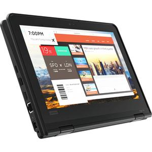 "Lenovo ThinkPad Yoga 11e 5th Gen 20LMS06500 11.6"" Touchscreen 2 in 1 Notebook - HD - 1366 x 768 - Intel Celeron N4120 Quad"