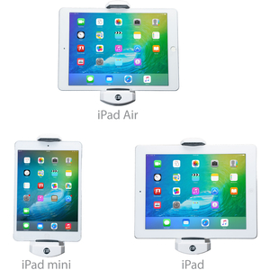 """CTA Digital PAD-KMS 2-in-1 Kitchen Mount Stand for iPad and Tablets - 13"""" x 13.5"""" x 7"""" x - Aluminum - 1 7-13IN TABLETS"""