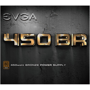 EVGA BR Power Supply - Internal - 120 V AC, 230 V AC Input - 3.3 V DC @ 20 A, 5 V DC @ 20 A, 12 V DC @ 37.5 A, 5 V DC @ 3
