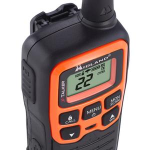 Midland X-TALKER T51VP3 Walkie Talkie - 22 Radio Channels - Upto 147840 ft - 38 Total Privacy Codes - Auto Squelch, Keypad