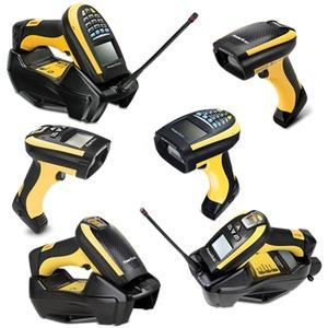 Datalogic PowerScan PM9501 Handheld Barcode-Scanner-Set - Kabellos Konnektivität - Gelb, Schwarz - 1D, 2D - Bildwandler