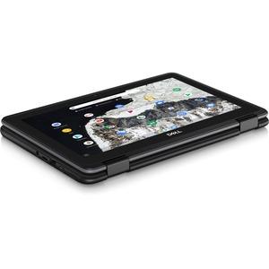 "Dell Chromebook 11 3000 3100 11.6"" Touchscreen 2 in 1 Chromebook - HD - 1366 x 768 - Intel Celeron N4020 Dual-core (2 Core"