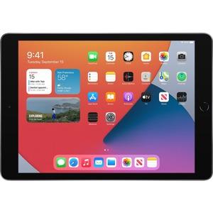 "Apple iPad (8th Generation) Tablet - 25.9 cm (10.2"") Quad-core (4 Core) - 3 GB RAM - 32 GB Storage - iPadOS 14 - Space Gra"