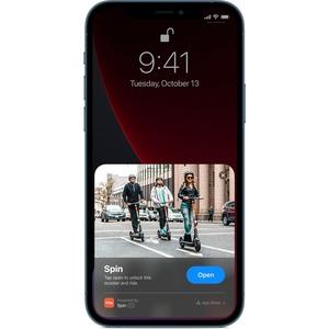 "Apple iPhone 12 Pro Max 128 GB Smartphone - 17 cm (6.7"") OLED2778 x 1284 - 6 GB RAM - iOS 14 - 5G - Pacific Blue - Bar - H"