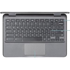 "Dell Chromebook 11 3100 29.5 cm (11.6"") Chromebook - HD - 1366 x 768 - Intel Celeron 10th Gen N4020 Dual-core (2 Core) - 4"
