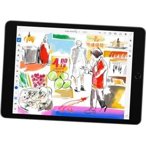 Apple iPad (9th Generation) Tablet - 25,9 cm (10,2 Zoll) - Hexa-Core (Lightning Dual-Core 2,65 GHz + Thunder Quad-Core 1,8