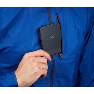 LaCie Tragbar Solid State-Laufwerk - Extern - 1 TB - USB 3.1 Typ C - 3 Jahr(e) Garantie