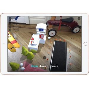 Apple iPad . Bildschirmdiagonale: 25,9 cm (10.2 Zoll), Bildschirmauflösung: 2160 x 1620 Pixel. Interne Speicherkapazität: