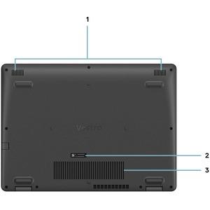 """Ordinateur Portable - Dell Vostro 15 3000 3501 - Écran 39,6 cm (15,6"""") - Full HD - 1920 x 1080 - Intel Core i3 (10ème géné"""