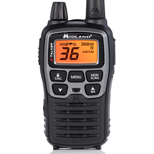 Midland X-TALKER Extreme Dual Pack T77VP5 - 36 Radio Channels - Upto 200640 ft - 121 Total Privacy Codes - Auto Squelch, K