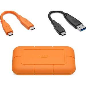 SSD Portable LaCie Rugged STHR500800 - Externe - 500 Go - PCI Express NVMe - Ordinateur de bureau Appareil compatible - US