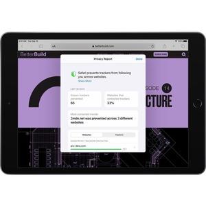 Apple iPad (8th Generation) Tablet - 25,9 cm (10,2 Zoll) - 3 GB RAM - 128 GB - iPadOS 14 - 4G - Grau - Apple A12 Bionic So