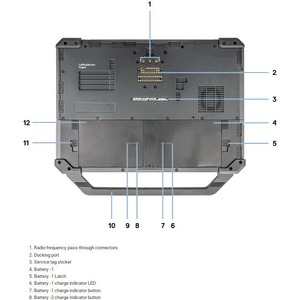 "Dell Latitude 5000 5420 14"" Rugged Notebook - Full HD - 1920 x 1080 - Intel Core i5 (8th Gen) i5-8350U Quad-core (4 Core)"