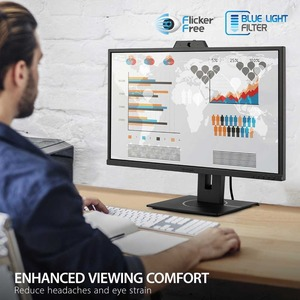 "Viewsonic VG2740V 27"" Full HD LED LCD Monitor - 16:9 - Black - 27"" Class - SuperClear IPS - 1920 x 1080 - 16.7 Million Col"