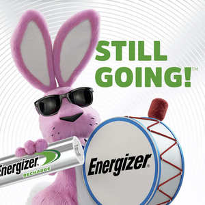 Energizer Recharge Power Plus Rechargeable AA Batteries, 4 Pack - For Multipurpose - Battery Rechargeable - AA - 1.2 V DC