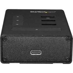 StarTech.com USB Hub - USB Type C - External - Black - 4 Total USB Port(s) - PC, Mac, Chrome OS