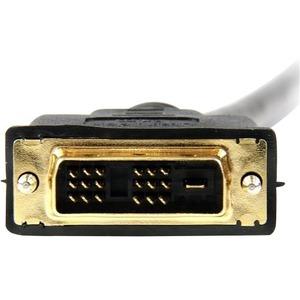 StarTech.com Câble HDMI® vers DVI-D 2 m - M/M - 1er bout: 1 x HDMI Mâle Audio/Vidéo numérique - 2e bout: 1 x DVI-D Mâle Vi