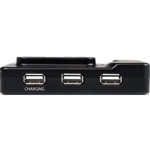 StarTech.com 6 Port USB 3.0 / 2.0 Hub mit 2A Ladeanschluss - 2x USB 3.0 und 4x USB 2.0 - 6 Total USB Port(s) - 4 USB 2.0 P