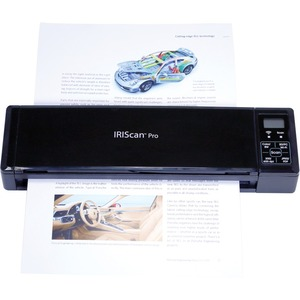 IRIS IRIScan Pro 3 Wifi Cordless Sheetfed Scanner - 600 dpi Optical - Scan anything, share anywhere! ADF 8PAGES SCAN JPG P