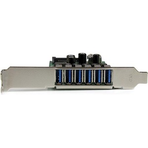 StarTech.com 7 Port PCI Express USB 3.0 Karte - 7 Total USB Port(s) - 7 USB 3.0 Port(s) - PC, Linux