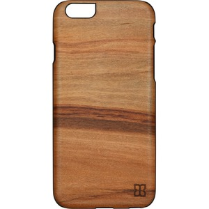 Man&Wood iPhone 6S Slim Case Cappuccino - For Apple iPhone 6, iPhone 6s Smartphone - Cappuccino, Black - Smooth - Scratch