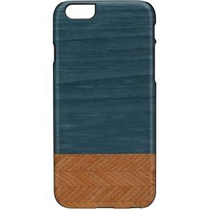 Man&Wood iPhone 6S Slim Case Denim - For Apple iPhone 6, iPhone 6s Smartphone - Denim, Black - Smooth - Scratch Resistant