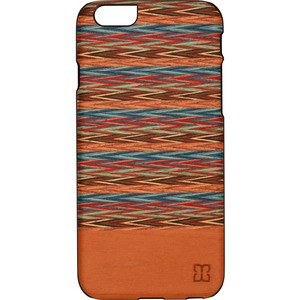 Man&Wood iPhone 6S Slim Case Browny Check - For Apple iPhone 6, iPhone 6s Smartphone - Browny Check - Black - Smooth - Scr