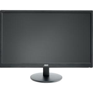 AOC Value-line E2270SWHN 54,6 cm (21,5 Zoll) Full HD LED LCD-Monitor - 16:9 Format - Schwarz - 1920 x 1080 Pixel Bildschir
