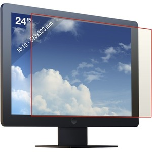 """Reticare Screen Protector - For 24"""" Widescreen LCD Monitor - 16:10 - Scratch Resistant - 1 Pack 16:10 20.35IN X12.72IN"""