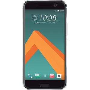 HTC 10 32 GB Smartphone - 13,2 cm (5,2 Zoll) LCD QHD 2560 x 1440 - 4 GB RAM - Android 6.0 Marshmallow - 4G - Silber - Bar