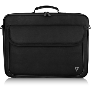 """V7 Essential CCK16-BLK-3E Carrying Case (Briefcase) for 40.6 cm (16"""") Notebook - Black - 600D Polyester, 210D Polyester In"""