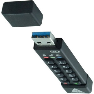 Apricon Aegis Secure Key 3NX: Software-Free 256-Bit AES XTS Encrypted USB 3.1 Flash Key with FIPS 140-2 level 3 validation