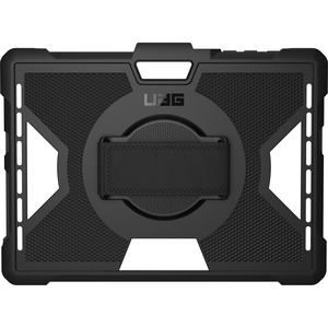 Urban Armor Gear Outback Carrying Case Microsoft Surface Go Tablet - Black - Drop Resistant, Impact Resistant, Anti-slip -