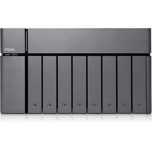 Sans Digital XCubeNAS XN8008T SAN/NAS Storage System - Intel Core i5 Quad-core (4 Core) 2.70 GHz - 8 x HDD Supported - 112
