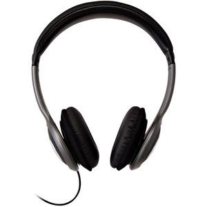 V7 Deluxe Stereo-Kopfhörer mit Lautstärkeregelung, leichtes Headset für iPad, iPhone, iPod, Tablet, Smartphone, Laptop, Co