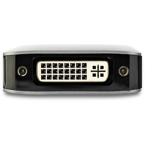 StarTech.com USB-C auf DVI-Adapter - Dual-Link-Konnektivität - Konverter - Aktiv - 2560x1600 - 1 x USB-Typ C Stecker - 1 x