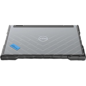 Gumdrop DropTech for Dell 3390 2-in-1 Latitude - For Dell Notebook - Black, Clear - Drop Resistant, Shock Resistant - Sili