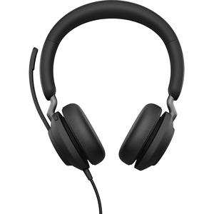 Jabra Evolve2 40 Kabel Kopfbügel Stereo Headset - Binaural - Ohraufliegend - Host-Schnittstelle: USB Typ-A