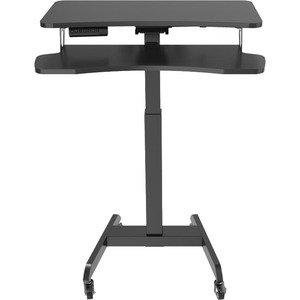 """V7 DTMWS Motorized Mobile Workstation - 81.57 lb Load Capacity - 50.4"""" Height x 10.5"""" Width - Floor Stand ELECTRIC POWERED"""