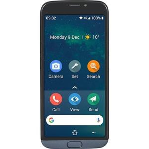 "Doro 8050 16 GB Smartphone - 13.8 cm (5.5"") 1440 x 720 - Android 9.0 Pie - 4G - Grey - Bar - Qualcomm QM215 SoC - SIM-free"