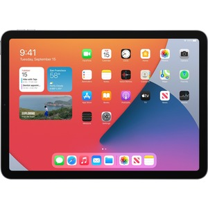 Apple iPad Air (4th Generation) Tablet - 27,7 cm (10,9 Zoll) RAM - 64 GB - iPadOS 14 - Grau - Apple A14 Bionic SoC - Liqui