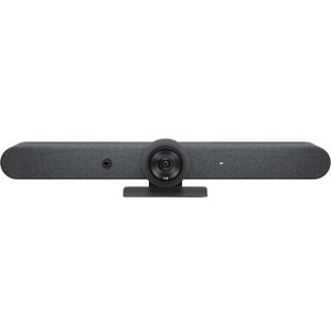 Logitech Rally Bar Video Conferencing Camera - 30 fps - Graphite - USB 3.0 - 3840 x 2160 Video - 3x Digital Zoom - Microph