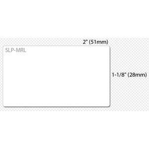 "Seiko SmartLabel SLP-MRL Multipurpose Label - 1 1/10"" x 2 1/64"" Length - Rectangle - Direct Thermal - White - Paper - 220"
