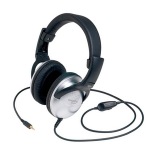 Koss UR29 Home Stereo Headphone - Wired - 100 Ohm - 18 Hz 20 kHz - 8 ft Cable 8FT VOL LEATHERETTE COLLAPSIBLE