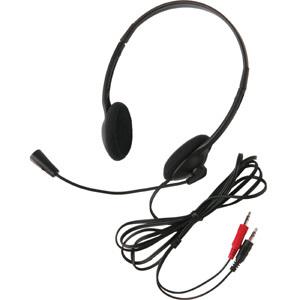 CALIFONE 3065AV LIGHTWEIGHT HEADSET MIC 3.5MM 6FT - Stereo - Mini-phone (3.5mm) - Wired - 32 Ohm - 20 Hz - 20 kHz - Over-t