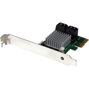 StarTech.com 4 Port SATA III RAID Controller PCI Express Schnittstellenkarte RAID mit HyperDuo SSD Tiering - RAID-Unterstü