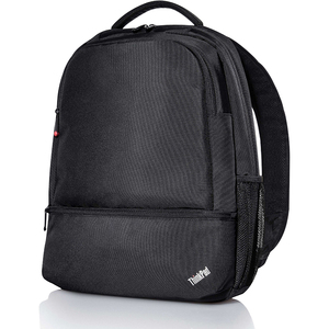 """Lenovo Essential Carrying Case (Backpack) for 15.6"""" Notebook - Shoulder Strap, Handle, Trolley Strap - 18"""" Height x 13.5"""""""