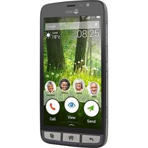 """Smartphone Doro Liberto 825 8 Go - Écran - Écran 12,7 cm (5"""") LCD HD 1280 x 720 - Quad-core (4 cœurs) - 1 Go RAM - Android"""