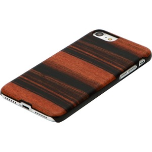 Man&Wood iPhone 7 Slim Ebony - For Apple iPhone 7 Smartphone - Ebony, Black - Smooth - Scratch Resistant - Wood, Polycarbo